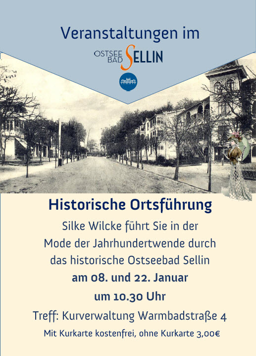 Historische Ortsführung Sellin Januar 2020