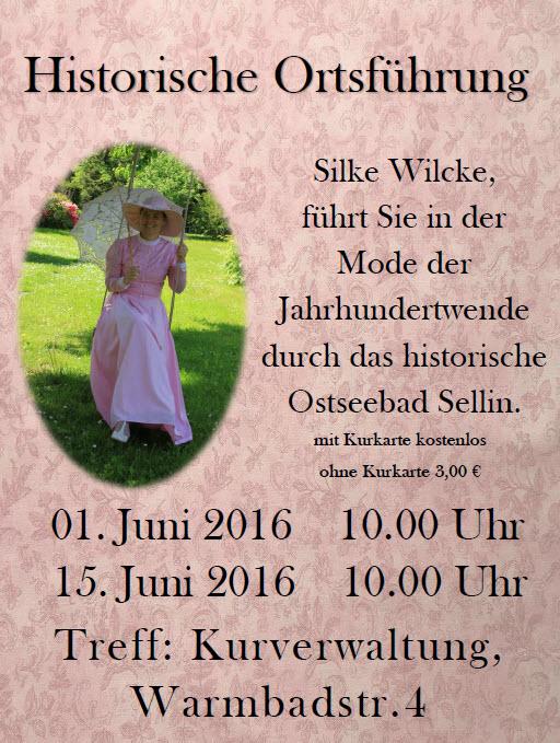 Historische Ortsführung Sellin Juni 2016