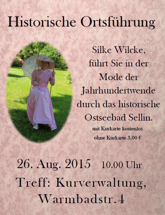 Historische Ortsführung Sellin August 2015
