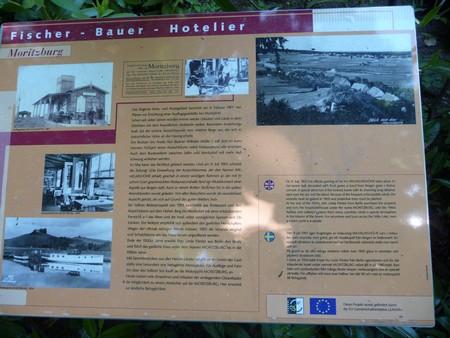 Tafel hostorisch moritzdorf