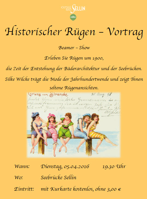 Historischer Rügen-Vortrag
