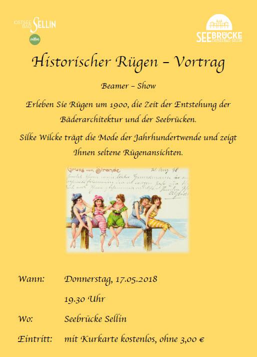 Historischer Rügenvortrag Mai 2018