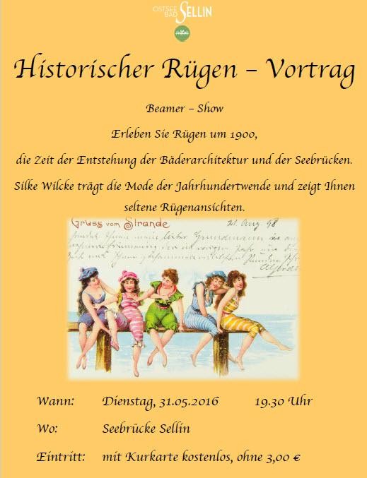 Historischer Rügen Vortrag Mai 2016