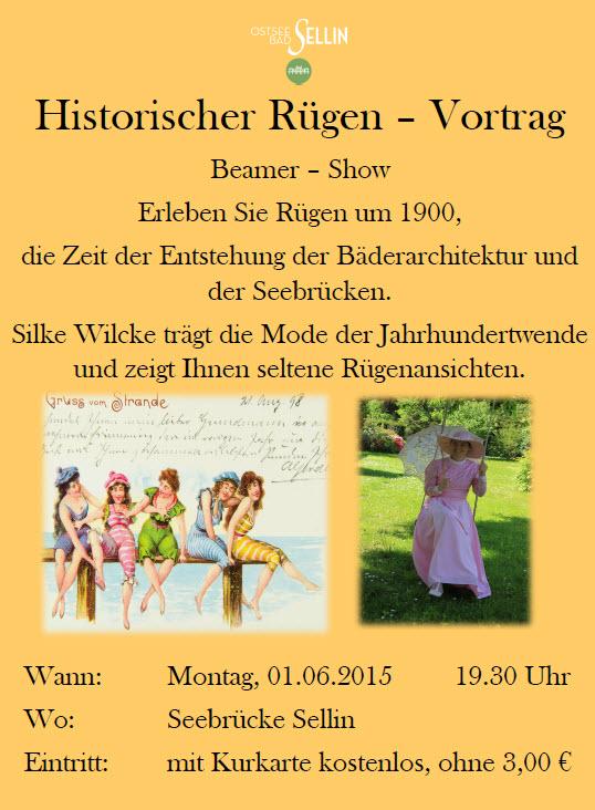 Historischer Vortrag in Sellin