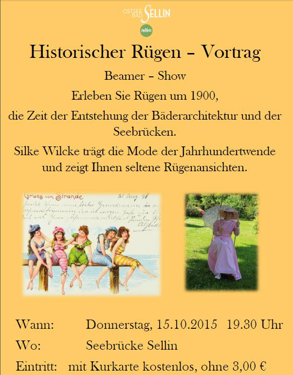 Historischer Vortrag Wilcke
