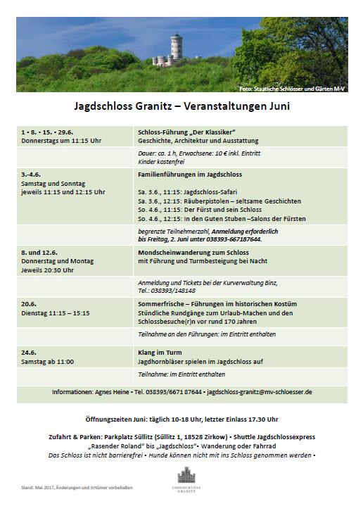 Jagdschloss Granitz Juni 2017