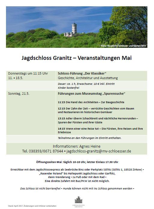 Jagdschloss Granitz Mai 2017