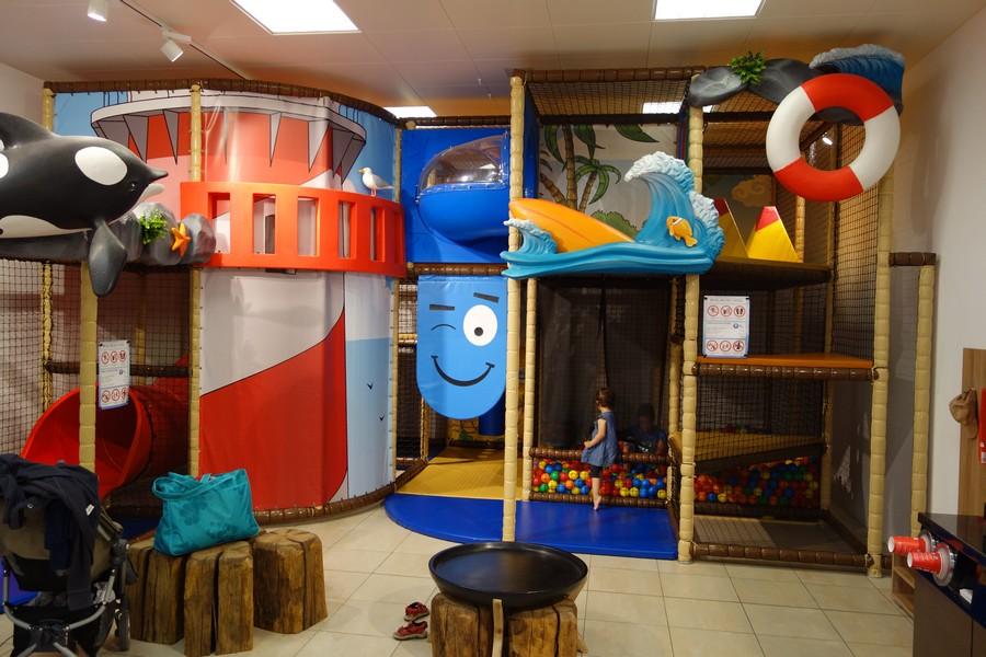 Indoor-Spielplatz im Kaufhaus Stolz in Sellin