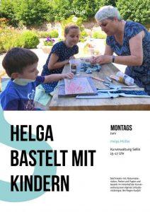 Kinderbasteln in Sellin Juni21