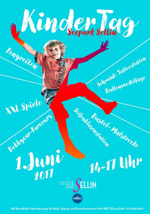 Kindertagsfest im Seepark Sellin am 1 Juni 2017