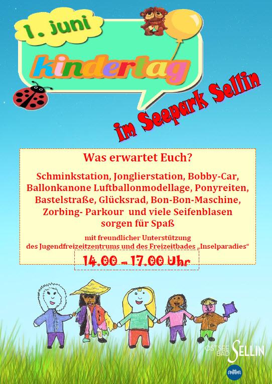 Kindertagsfest im Seepark Sellin