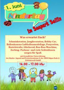Kindertag im Seepark Sellin