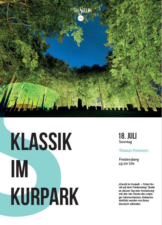 Klassik im Kurpark Juli 2021