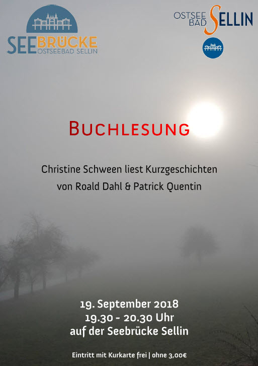 Buchlesung Schween September 2018