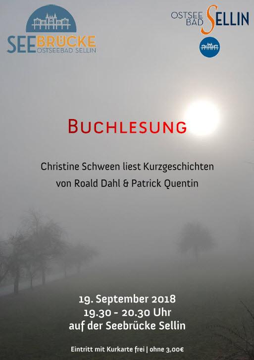 Buchlesung Schween September 2018