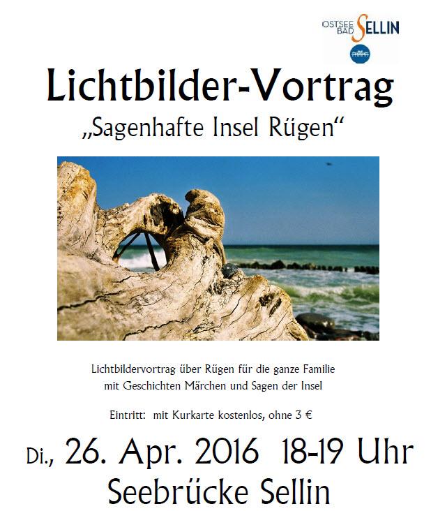Lichtbildervortrag Rügen