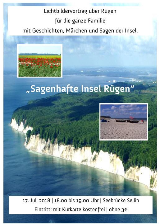 Sagenhafte Insel Rügen Juli 2018