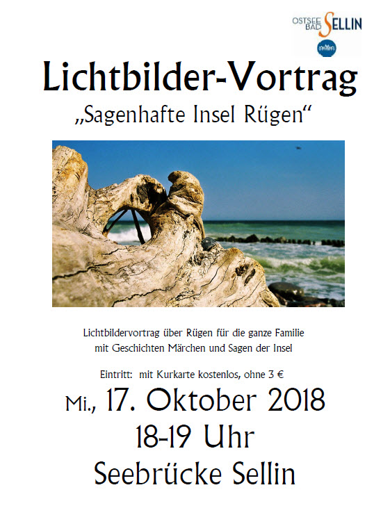 Lichtbildervortrag Oktober 2018