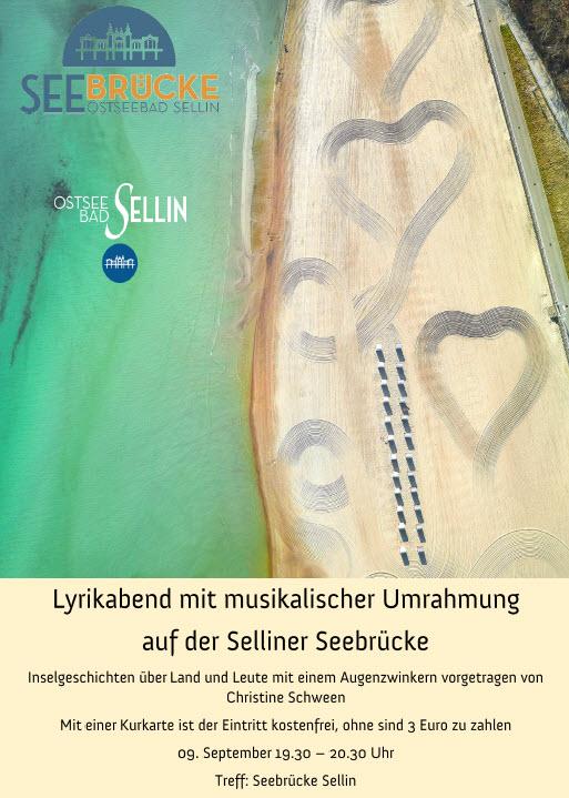 Lyrikabend Sellin September 2019