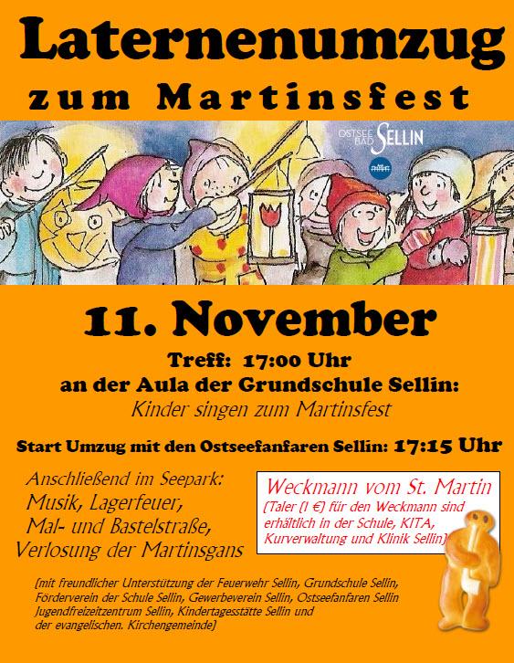 Martinsfest Sellin 2015