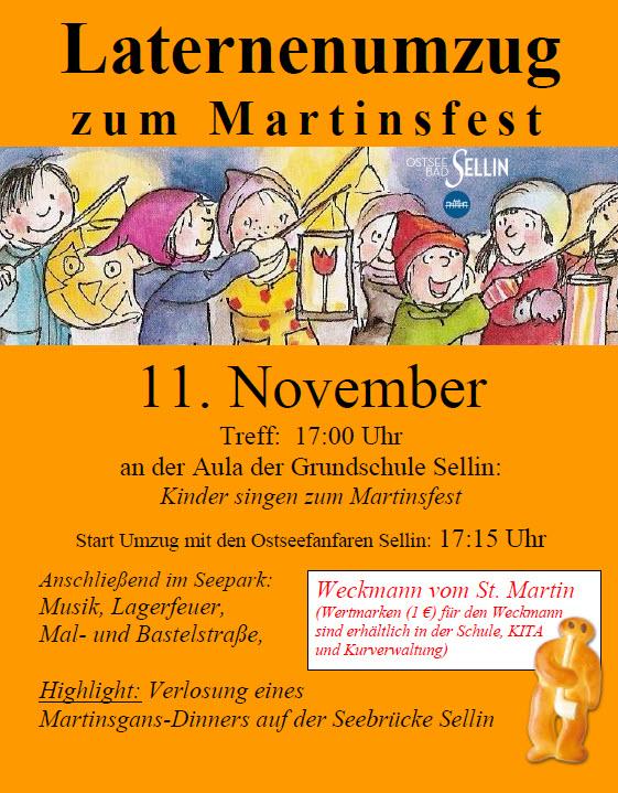 Martinsfest Sellin 2017