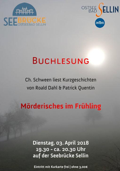 Mörderischer Frühling April 2018