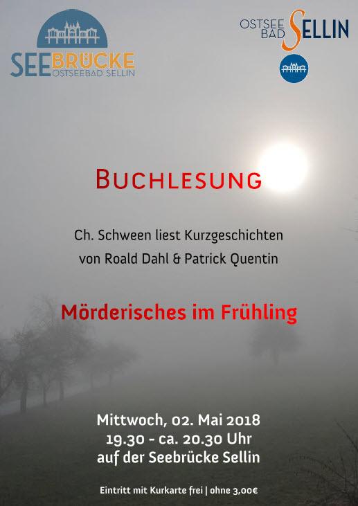 Buchlesung: Mörderisches im Frühling