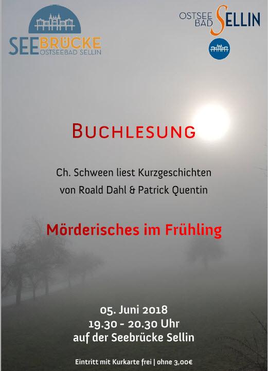 Buchlesung Mörderisches im Frühling Juni 2018