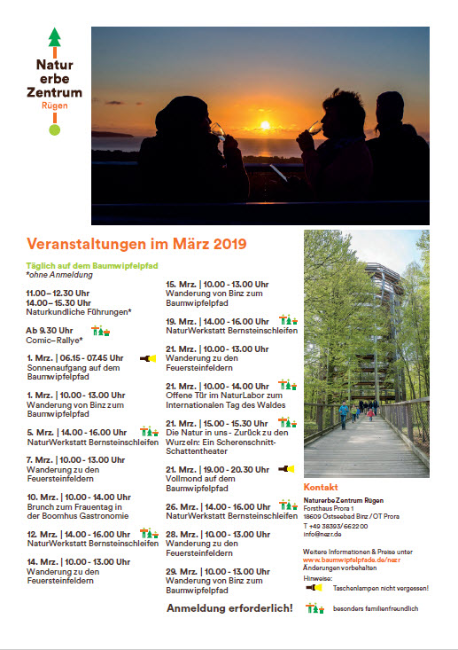 Naturerbezentrum März 2019