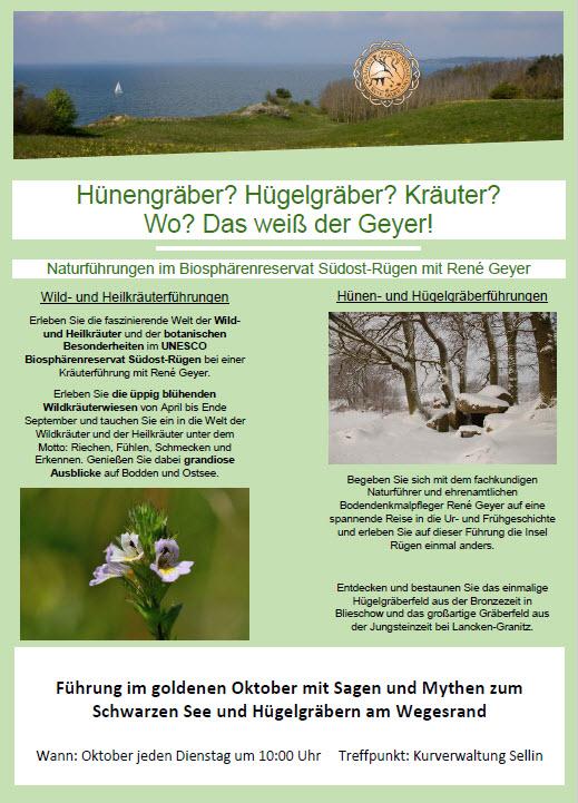 Naturführungen Oktober 2018