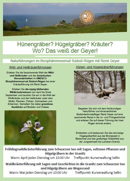 Naturführungen im Biosphärenreservat Südost Rügen