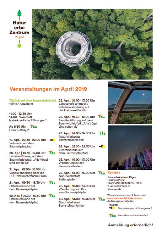 Baumwipfelpfad Prora  April 2019
