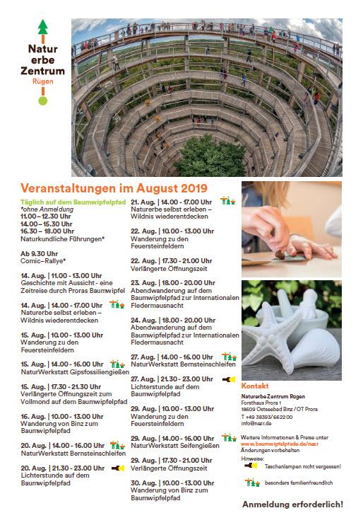 Baumwipfelpfad August 2019