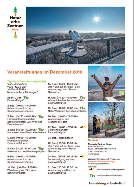 Naturerbezentrum Dezember 2018
