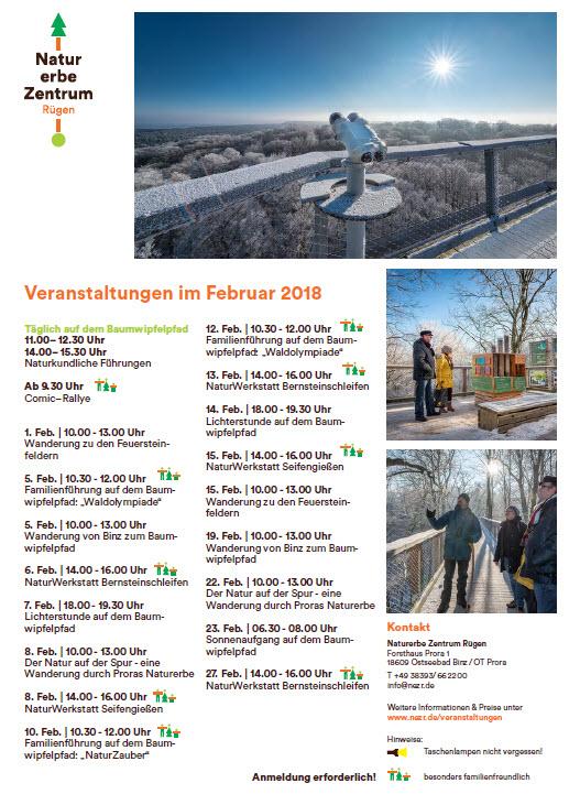 Naturerbe-Zentrum Prora Februar 2018