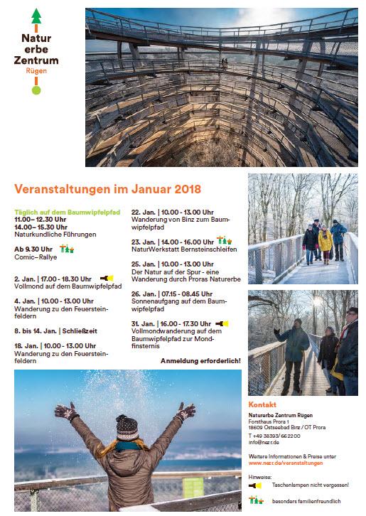 Naturerbe-Zentrum Prora Januar 2018