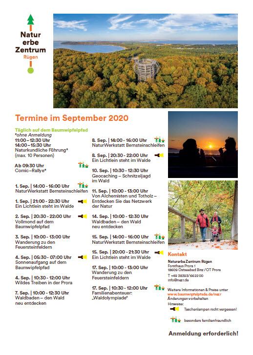 Baumwipfelpfad September 2020