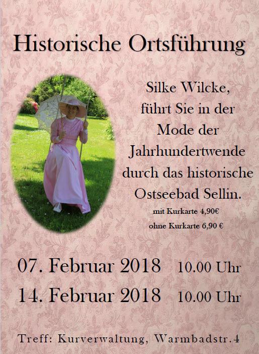 Ortsführung in Sellin Februar 2018