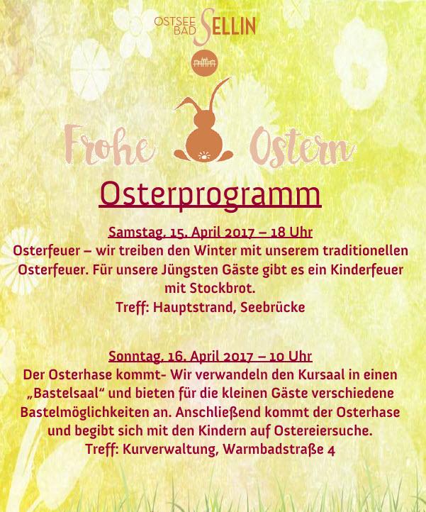 Osterprogramm 2017 in Sellin