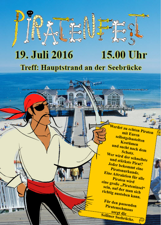 Piratenfest Sellin 2016