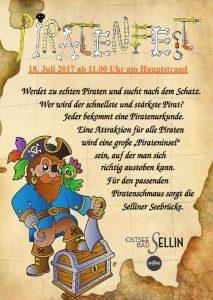 Piratenfest Sellin Juli 2017