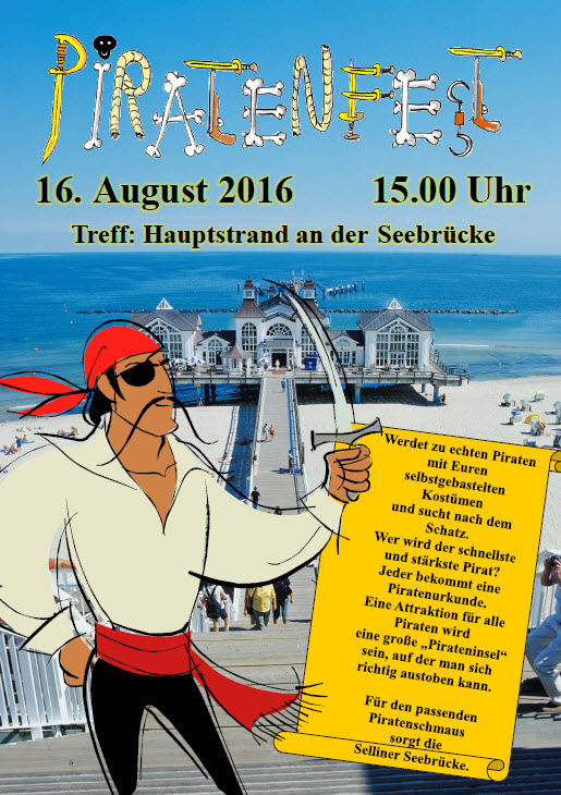 Piratenfest Sellin August 2016