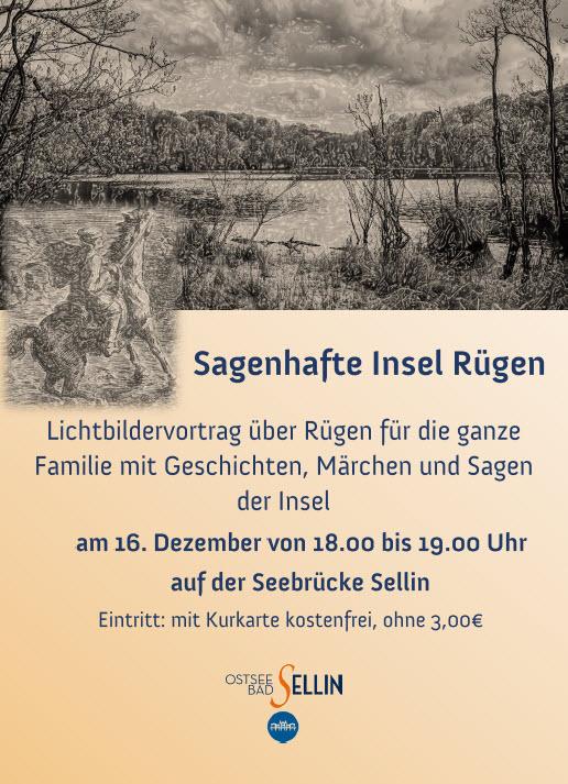 Sagenhafte Insel Rügen Dezember 2019