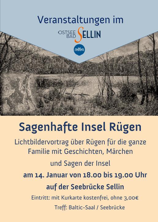 Sagenhafte Insel Rügen Januar 2020