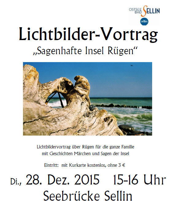 Lichbildervortrag Sagenhafte Insel Rügen