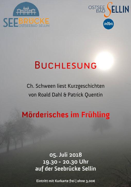 Buchlesung Juli 2018