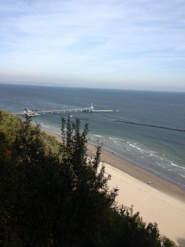 Seebruecke vom Hochufer aus gesehen
