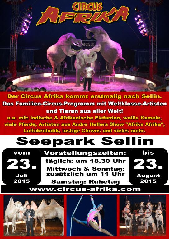 Circus Afrika in Sellin zu Gast