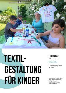 Textilgestaltung Kinder