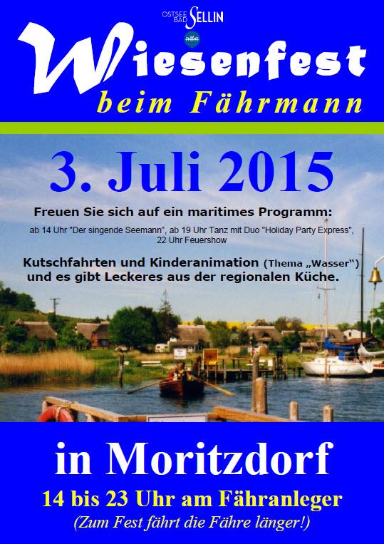 Wiesenfest beim Fährmann in Moritzdorf